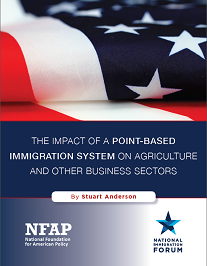 The Impact of a Point-Based Immigration System on Agriculture and Other Business Sectors