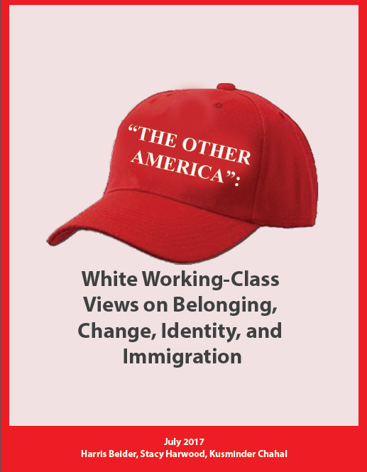 white working class views on belonging, change identity and immigration