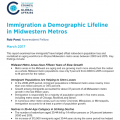Immigration as a Demographic Lifeline in Midwestern Metros